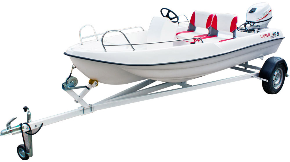лодка стеклопластик 410