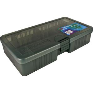 Коробка Tsuribito TF2145DКоробки<br>Удобная пластиковая коробка Tsuribito для хранения и транспортировки приманок. Коробка имеет 8 съемных перегородок и одну фиксированную, перегородки позволяют изменять размер каждого отделения. Размер  21,4 х 11,8 х 4,5см.<br>