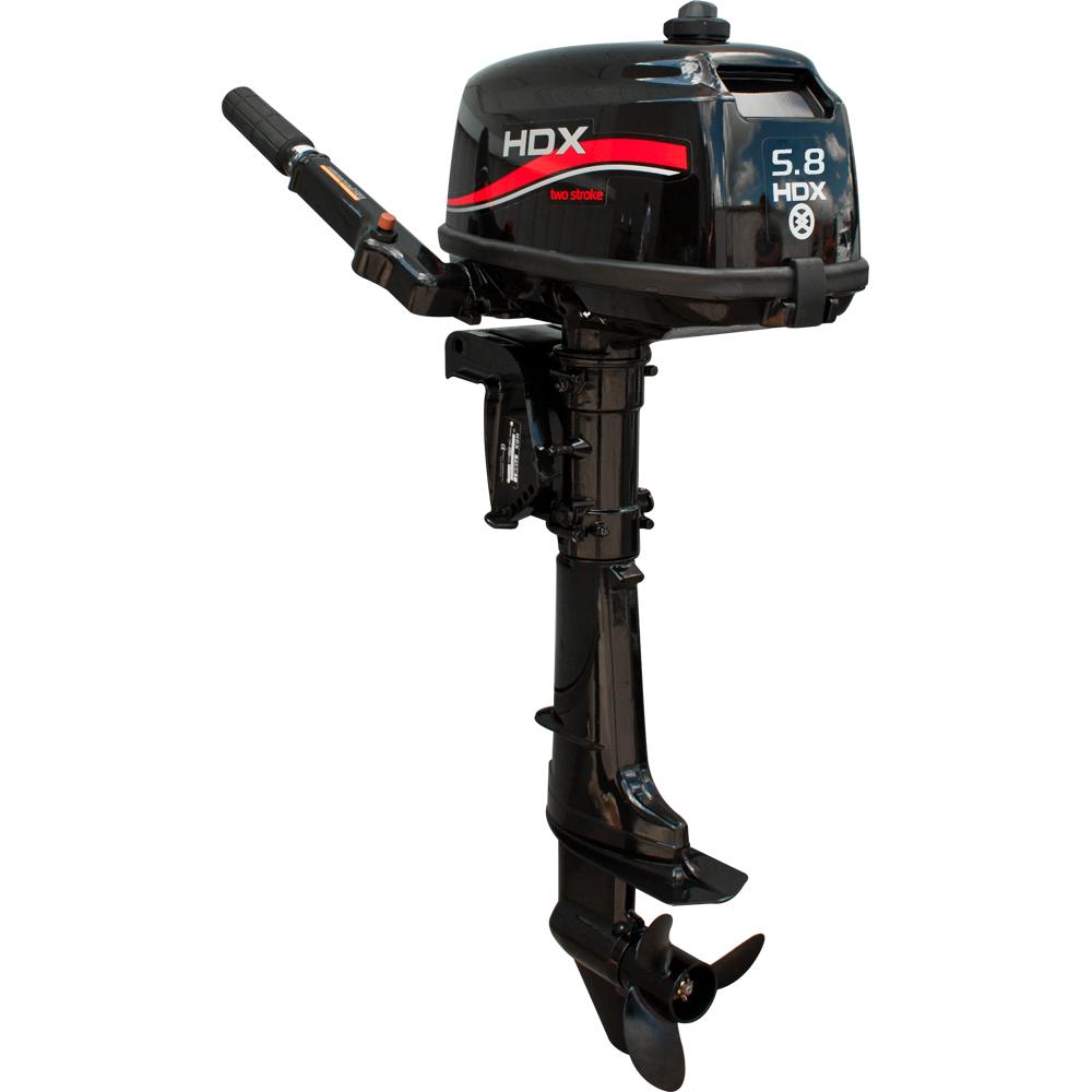 Лодочный мотор HDX T 5.8 BMSПодвесные моторы<br>Двухтактные лодочные моторы HDX - это компактные и надежные двигатели. Благодаря простоте конструкции эти моторы абсолютно неприхотливы в обслуживании.<br>