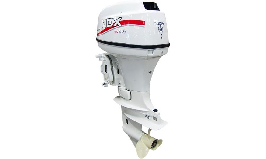 Лодочный мотор HDX T 30 FWS, белый (Laker edition)
