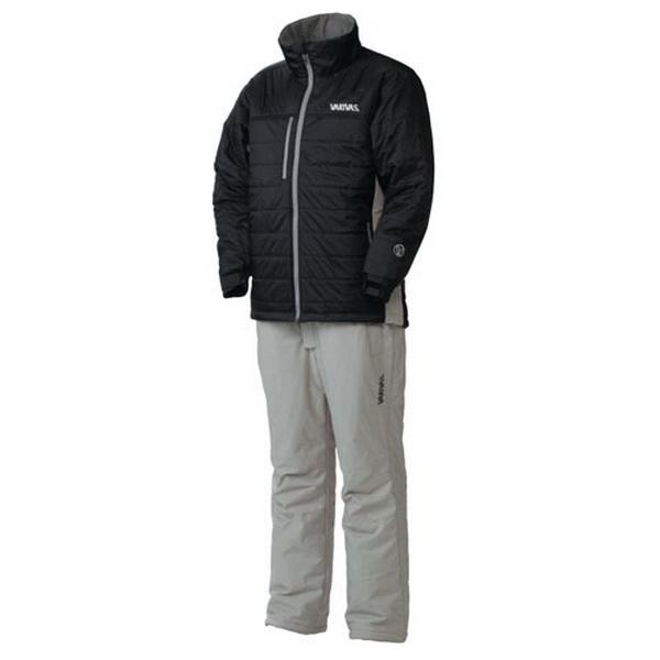 Костюм Varivas VAAW-13 Dry Armour Light Winter Suit, Black, LL (82110)Костюмы/комбинезоны<br>Теплый костюм из водонепроницаемого материала предназначен для носки в холодную зимнюю погоду. Идеален на рыбалке или во время активного отдыха на природе.<br>
