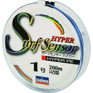 Леска Daiwa Surf Sensor Hyper Pe #1 (8476)Плетеные шнуры<br>Изготовлена из материала PE со специальной обработкой при помощи системы UVF  Ultra Volume Fiber  Обладает высокой прочностью, в 1,4 раза более прочная, чем обычная плетеная леска из материала PE  полиэтилен .<br>