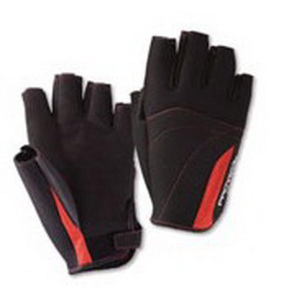 Перчатки Daiwa PG-7112W Red MВарежки/Перчатки<br>Зимние перчатки, изготовленные из неопрена - разновидности синтетического каучука. Для более удобной работы в них отсутствуют три пальца : большой, указательный и средний.<br>