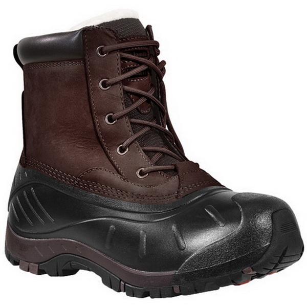 Ботинки Kamik Surreylo, мужск., верх: кожа, водонепроницаемые, цвет коричневыйБотинки<br>Отличные мужские ботинки Kamik Surreylo в движении могут защищать ноги от холода при температуре до -40 градусов.<br>