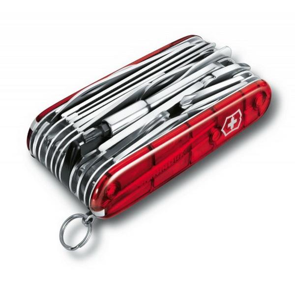 Нож Victorinox офицерский 1.6795.XLT (24399)Ножи разные<br>Универсальный аксессуар с большим количеством функций. В комплектацию входит фонарь.<br>