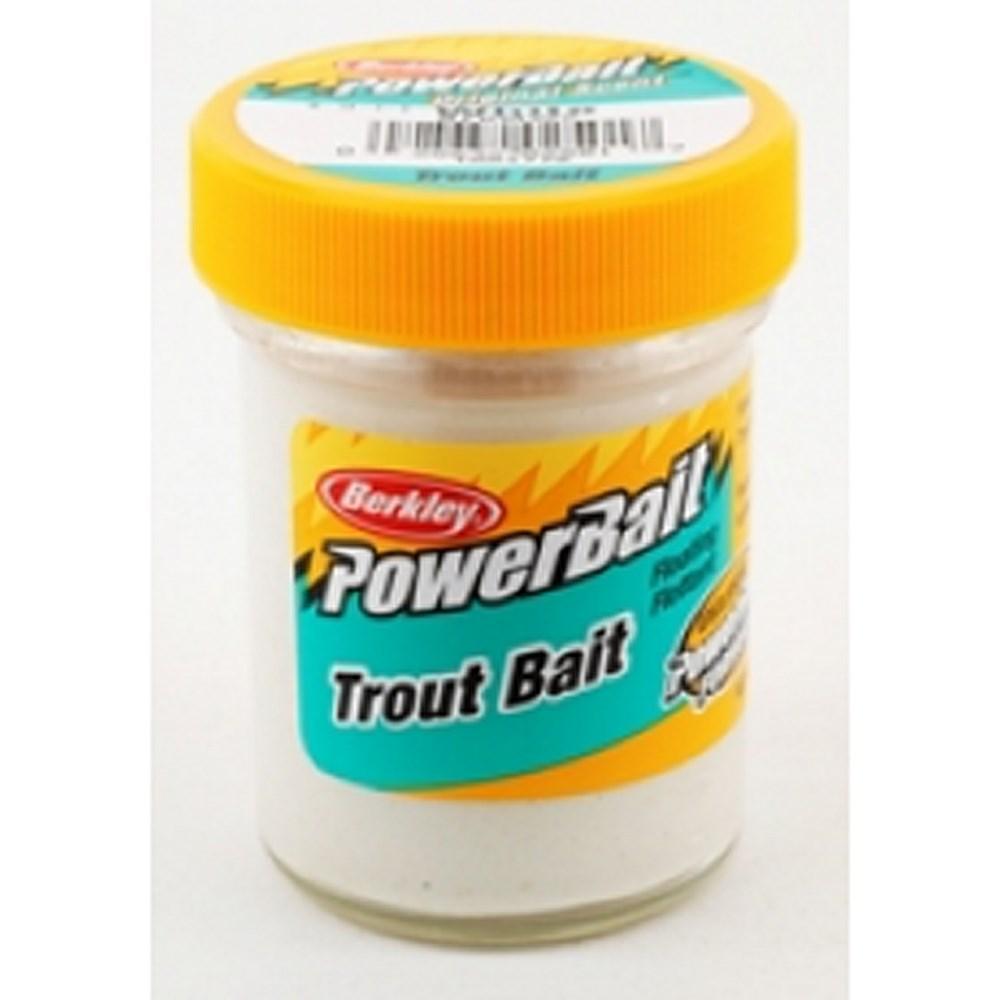 Форелевая паста Berkley Powerbait Biodegradable TroutBait 50г, цв. белый (61858)Насадки<br><br>
