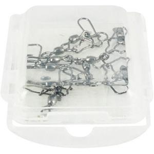 Карабин Tsuribito Crane Swiwel Nice Snap # 8 (упаковка 10 штук) (23594)Вертлюжки и застежки<br>разрывная нагрузка – 12кг<br>