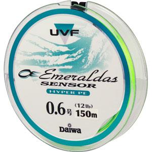 Леска Daiwa UVF Emeraldas Sensor + Si #0.6-150 (19725)Плетеные шнуры<br>Леска Daiwa UVF Emeraldas Sensor + Si изготовлен из материала PE со специальной обработкой при помощи системы UVF (Ulrta Volume Fiber). Обладает более высокой прочностью и износостойкостью, чем обычный плетеный шнур из материала PE (полиэтилена). Имеет сп...<br>