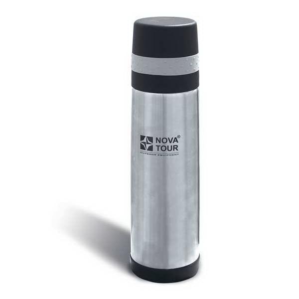 Термос NovaTour Хэнди 500Термосы<br>Компактный облегченный термос, выполненный из нержавеющей стали. Крышка с резиновым ободком с внутренней стороны дополнена вкладышем из пищевой пластмассы. Благодаря этому крышку можно использовать в качестве чашки.<br>
