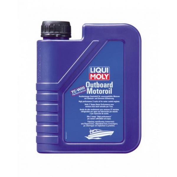 Масло Liquimoly для 2-тактных ПЛМ минеральное Outboard Motoroil (5л) от Liqui Moly
