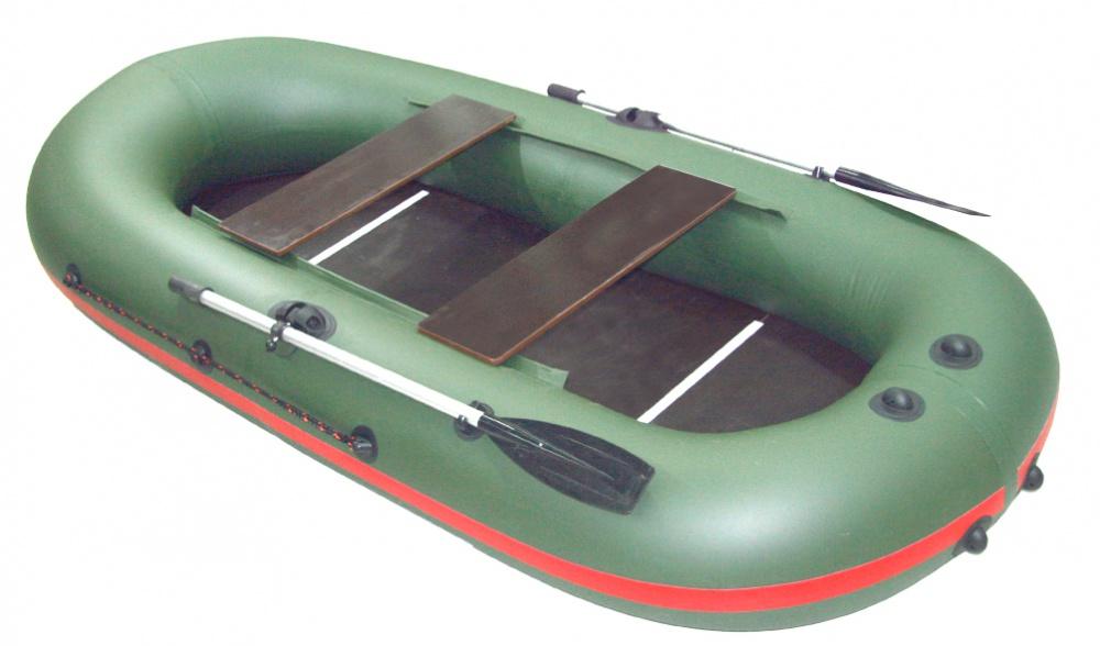 Надувная лодка Корсар TUZ - 280 натяжное дно оливковый (94599)