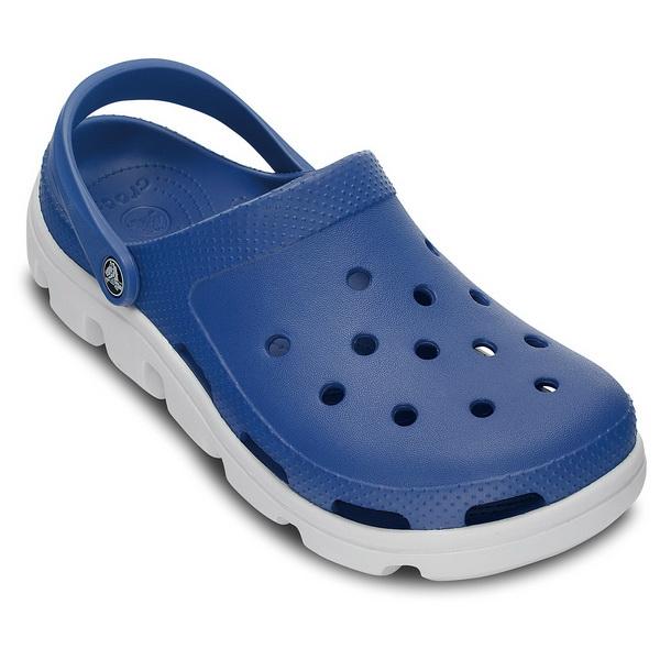 Сабо Crocs Унисекс Дуэт Спорт Клог Си Блю/Ойстер р. 43.5 (M10/W12) (64786)Сандалии и сабо<br>Стильные  и удобные сабо выполнены из уникального материала, выдерживают от -20 до  40 градусов. Подходят как мужчинам, так и женщинам.<br>
