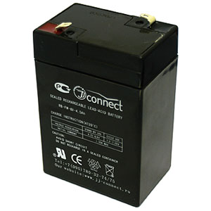 Аккумулятор JJ-Connect 12V-4.5 AHАксессуары и аккумуляторы<br>Аккумулятор 12V-4.5 AH.<br>