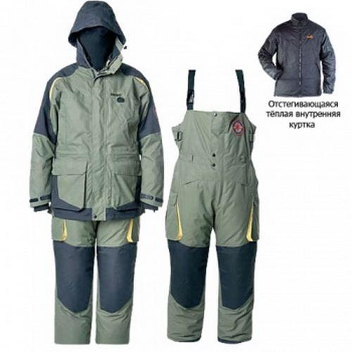 Костюм зимний Norfin EXTREME 06 King р.XXXL (44020)Костюмы/комбинезоны<br>Функциональный и тёплый костюм с множеством карманов выдерживает температуру до -30°С.<br>