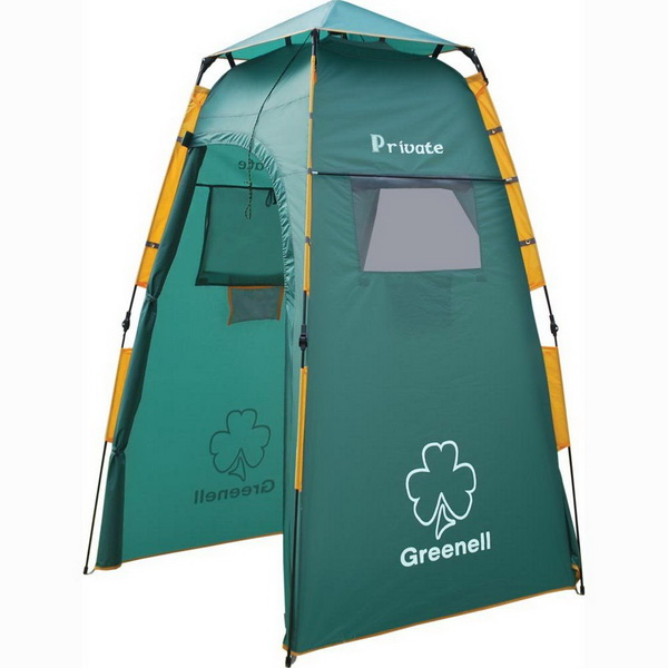 Палатка NovaTour Приват V2 (Зеленый)Палатки<br>Автоматическая палатка Приват - это палатка - душ и палатка - туалет, а также место для хранения припасов. Подходит для использования в качестветукрытия от дождя для человека, находящегося в стоячем положении.<br>