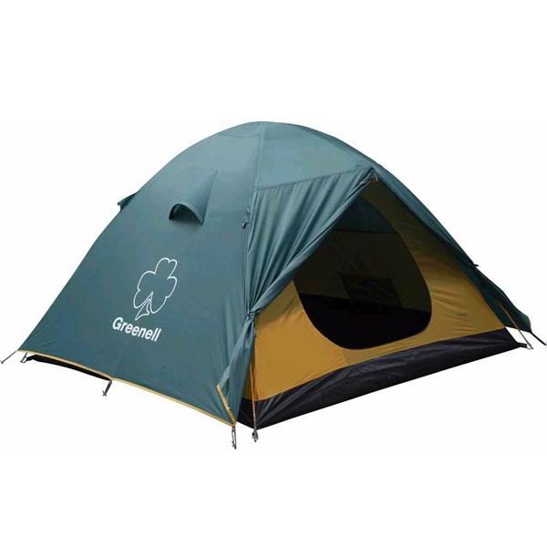 Палатка NovaTour Гори 4 ЗеленыйПалатки<br>Удобная четырехместная палатка, которая сочетает в себе такие качества, как надежность и приемлемая цена. Имеет дуговую конструкцию.<br>