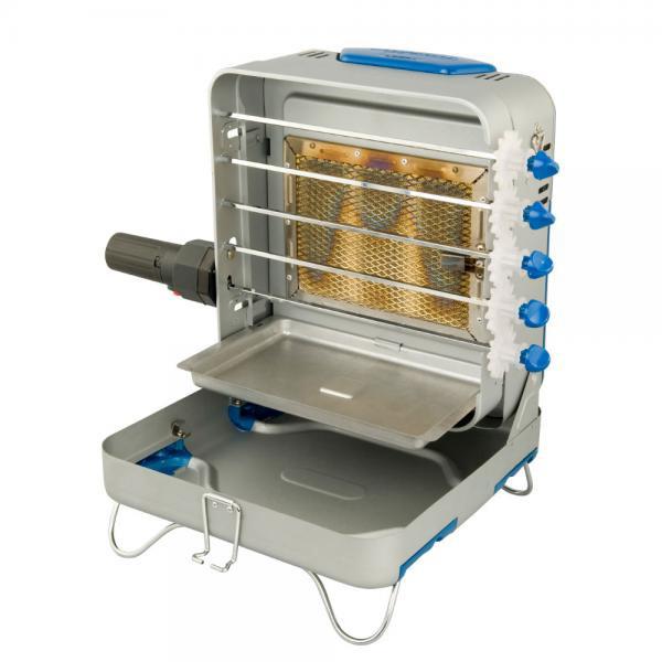 Шашлычница Coleman Газовая Rotario (37x32x20)Мангалы, барбекю, шампуры, решетки<br>Компактная и простая в эксплуатации, надёжная и безопасная. Керамическая горелка обеспечит равномерное приготовление мяса всего за 15-20 минут<br>