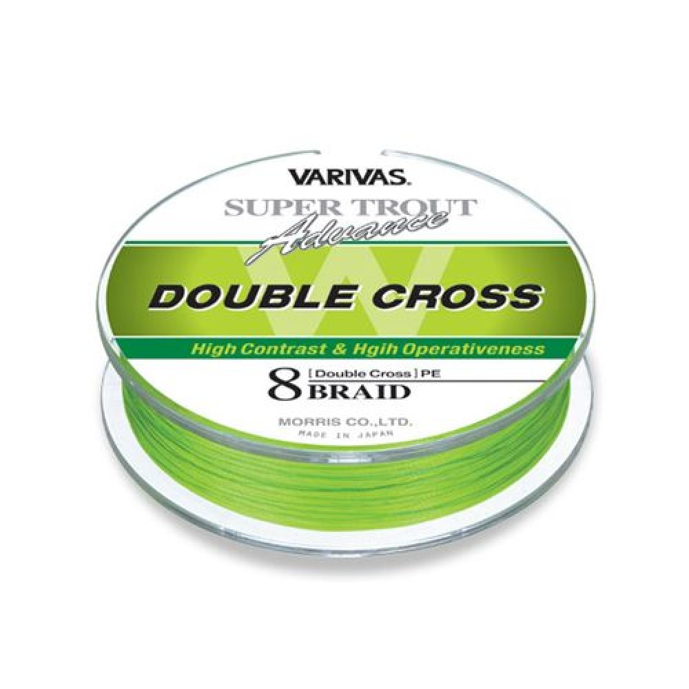 Леска плетеная Varivas Trout Advance Double Cross PE 91 м
