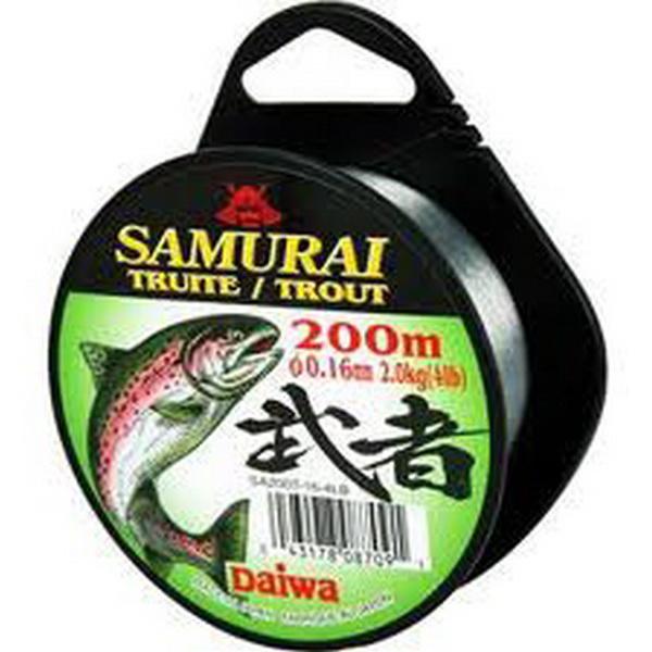 Монолеска Daiwa Samurai Trout 0.22 - 200 M (12781)Монофильные лески<br>Мягкая универсальная леска, серого цвета. Изготовлена из нейлона премиум - класса.<br>