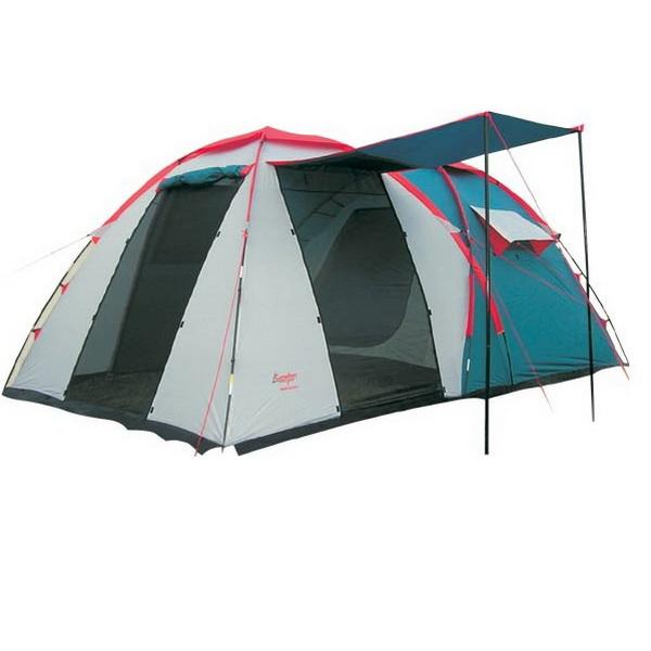 Палатка Canadian Camper Grand Canyon 4 (цвет royal)Палатки<br>Кемпинговая палатка с высокой устойчивостью против ветра. Имеет просторный тамбур - прихожую с тремя входами и вентиляционными сетками по всей площади.<br>