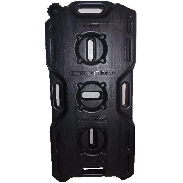 Канистра Экстрим 15л чёрнаяКанистры<br>Экспедиционная пластиковая канистра, предназначенная для транспортировки различных видов топлива, таких как бензин, керосин и дизтопливо. Изготовлена из прочного полимерного материала.<br>