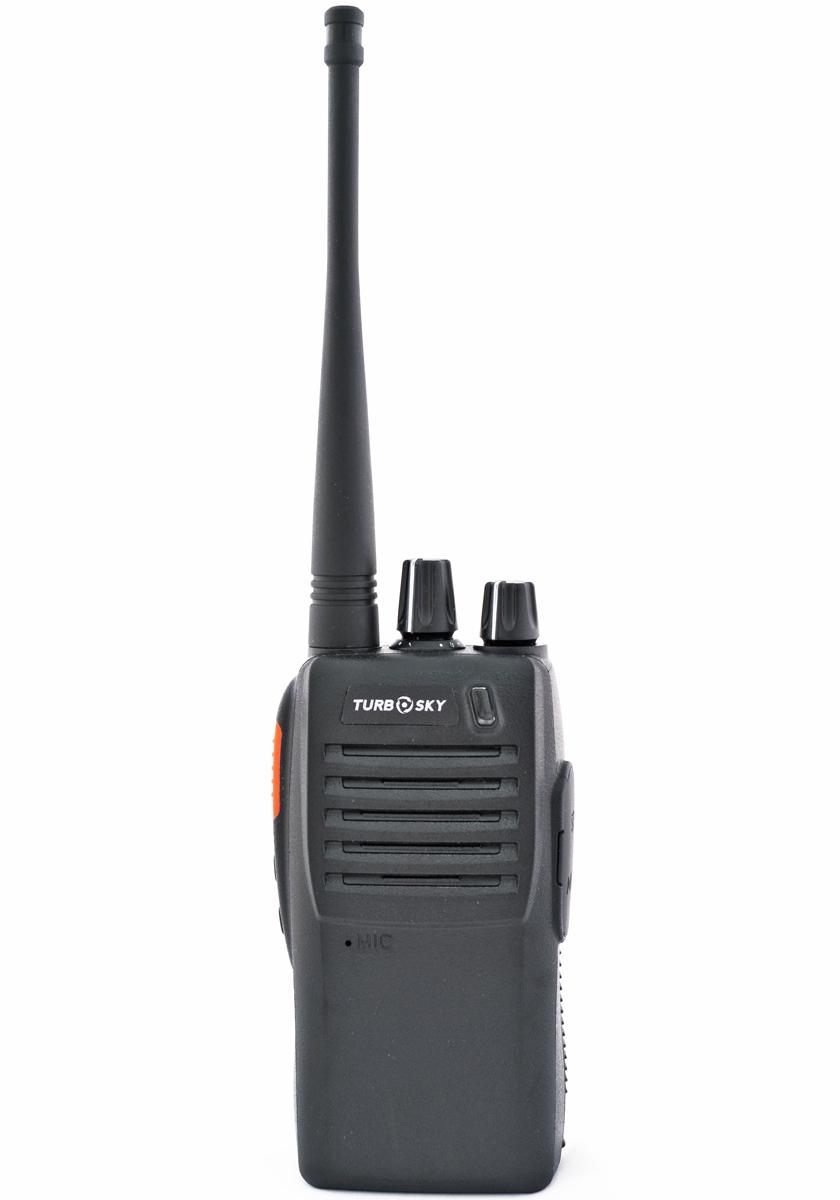 Радиостанция Turbosky R 2Полупрофессиональные<br>Радиостанция имеет надежную конструкцию, поэтому рация не ломается от ударов и падений, за счет чего хорошо подойдет для использования и на стройке, и на активном отдыхе, рыбалке, охоте. Корпус рации имеет удобное фиксирующее крепление.В комплект поставки...<br>