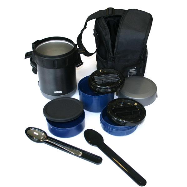 Термос Thermos для еды с контейнерами JBA-1801