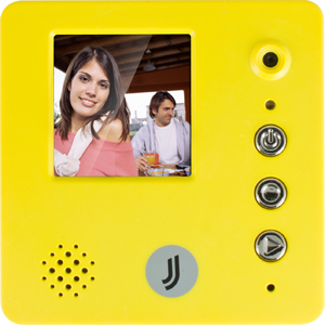 Гаджет JJ-Connect Memo Magnet желтыйМемо-магниты<br>Производитель электроники JJ-connect представляет уникальный гаджет для записи и проигрывания небольших видеороликов - Memo Magnet. Используйте фантазию и   дарите  Вашим близким небольшие сюрпризы каждый день.<br>