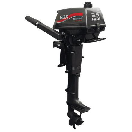 Лодочный мотор HDX Titanium T 3.5Подвесные моторы<br>2-х тактные лодочные моторы HDX Titanium - это моторы с хорошими конструктивными и эксплуатационными характеристиками.<br>На слух мотор тихий, его звук не раздражает, вплоть до максимальных оборотов.<br>Все элементы навесного оборудования качественно проложен...<br>