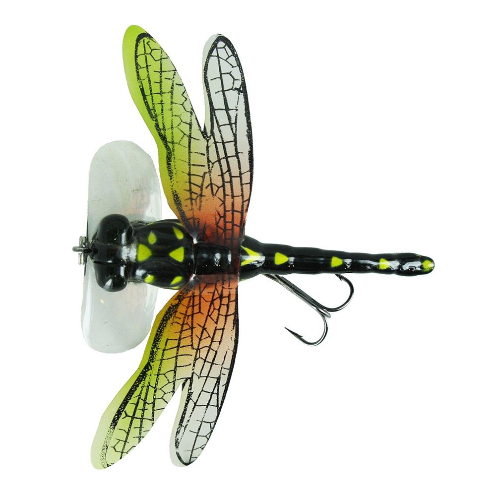 Воблер Trout Pro Dragon Fly Popper 70, цвет DF02  (38458)Воблеры<br>Забросьте DRAGON FLY Popper поближе к зарослям, подергайте приманку и не прозевайте момент, когда она исчезнет. Стрекозы активны в самые жаркие дни лета и наилучшие результаты ловли будут около водных геоцинтов или зарослей лилий.<br>