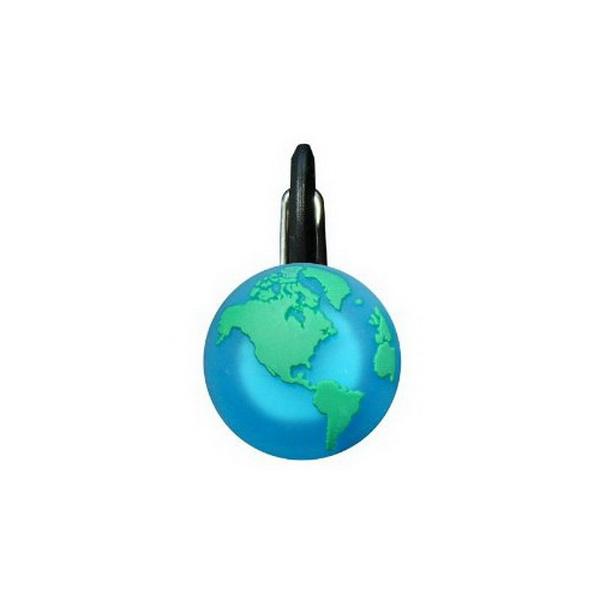Брелок NiteIze светодиодный ClipLit зеленая планета