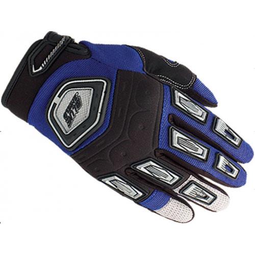Перчатки UMC ZAM-009, размер XL, сине-бело-черныеВарежки/Перчатки<br>Дышащий неопрен, сетчатый материал, гусиная кожа, поливинилхлоридный каучук<br>