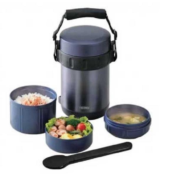 Термос Thermos для еды с контейнерами JBA-2001Термосы<br>Используется для одновременного сохранения и транспортировки горячего или холодного меню из 3-ех блюд.<br>