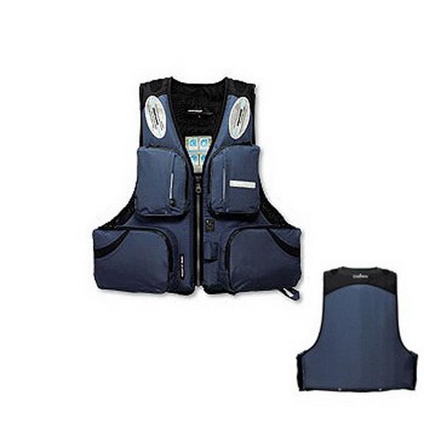 Жилет Daiwa Плавающий Great Banff GF-6412 Black 3LСпасательные жилеты <br>Отличное решение для зимней рыбалки. Костюм изготовлен из водонепроницаемой ткани с мембранным слоем Rain Max.<br>