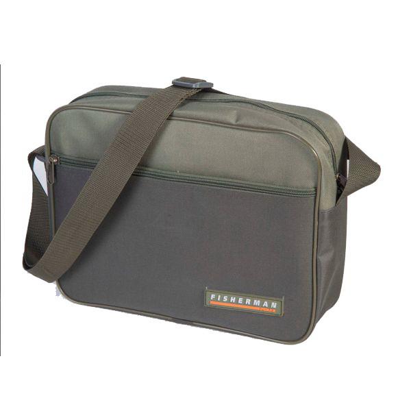 Сумка Fisherman д/коробок простая с коробками Ф45-КСумки и рюкзаки<br>Для любителей минимализма компания Fisherman представляет сумку Ф45-К, которая рассчитана на две пластиковые коробки для приманок.<br>
