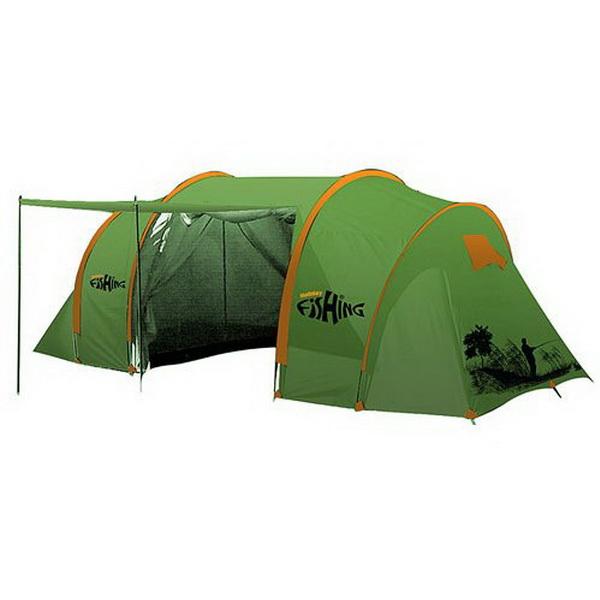 Палатка Holiday Кемп. 6-Ти Мест. Fishing Pike 6 Hf-1002Палатки<br>Незаменимая вещь в любом походе и отдыхе на природе. Отлично защищает от жарких солнечных лучей и служит прекрасной защитой от мошкары и гнуса в ночное время.<br>