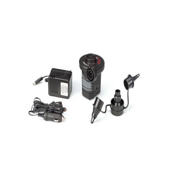Насос Intex электр. 220/12В, комплект насадок 3 шт New