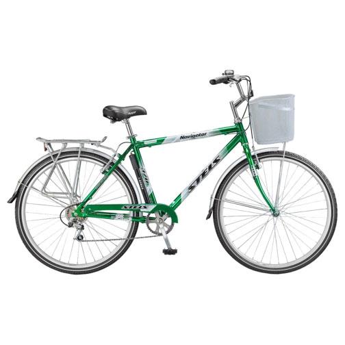 Велосипед Stels Navigator 370 28Велосипеды Stels<br>Дорожный велосипед Stels Navigator 370 Lady предназначен для девушек. Об этом говорит особая геометрия рамы с заниженной верхней трубой. Материал, из которого изготовлена рама, - лёгкий и прочный алюминий. Велосипед оснащён комфортным седлом, крыльями, ба...<br>
