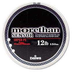 Леска Daiwa Morethan Sensor + Si #0.8-150 (18283)Плетеные шнуры<br><br>