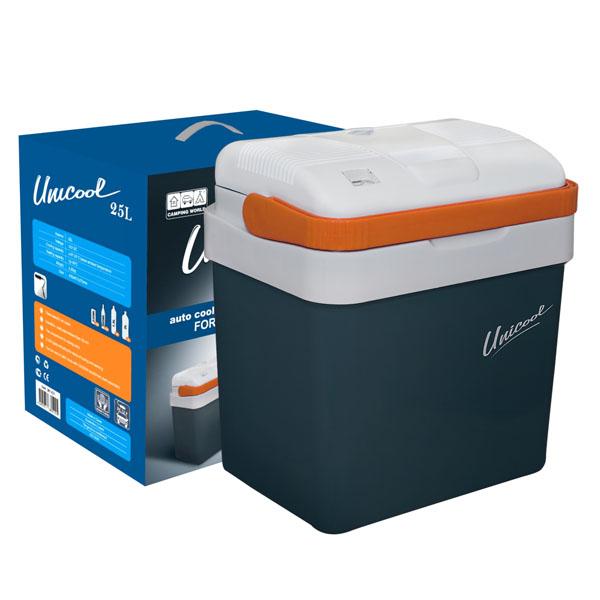Холодильник Camping World автомобильный термоэлектрический CW Unicool 25Холодильники<br>Автомобильные холодильники Camping World Unicool обеспечивают сохранение продуктов свежими - охлажденными или горячими в течение достаточно продолжительного времени.<br>
