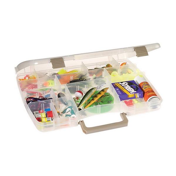 Коробка Plano 3870-00Коробки<br>Коробка для рыболовных принадлежностей, выполнена из ударопрочного пластика, с надежными запорами.<br>
