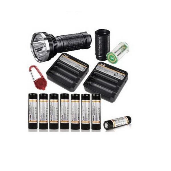 Комплект Fenix удлинителя с батарейной кассетой для светодиодного фонаря AER-TK75Аксессуары<br>Удлинитель с батарейной кассетой для светодиодного фонаря предназначен для увеличения времени работы фонаря. Для одного фонаря рекомендуется использовать не более трех удлинителей с батарейной кассетой.<br>