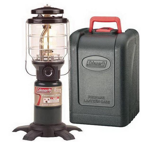 Лампа Coleman газовая Northstar PerfectFlow InstaStar Pronane Lantern with Carry CaseЛампы кемпинговые<br>Газовая лампа на одном картридже, способная работать от 5,5 до 11 часов. Имеется дополнительная металлическая защита стеклянного плафона.<br>