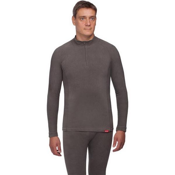 Рубашка NovaTour Поларис, цвет темно-серый, размер XL/56-58 (43440)Водолазки<br>Рубашка с воротником-стойкой защитит от попадания холодного воздуха.<br>