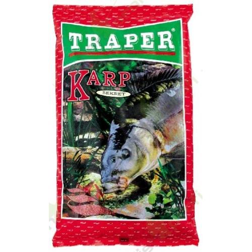 Прикормка Traper Secret Carp red (Карп красный) 1кг 00025Прикормки<br>Серия прикормок Secret разработана экспертами фирмы TRAPER для рыбалки в таких условиях, когда необходима прикормочная смесь определённого цвета. Ведь, к примеру, в холодной и прозрачной воде рыба, как известно, смелее подходит на прикормку тёмных тонов,...<br>