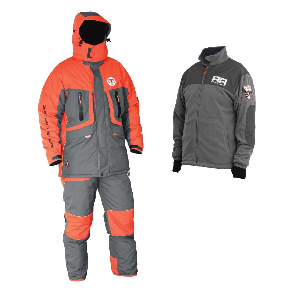 Костюм зимний Adrenalin Republic EVO 3in1, M (89907)Костюмы/комбинзоны<br>Костюм разработан на базе отлично зарекомендовавшей себя модели ROVER, выполнен в новой оранжево-серой гамме и предназначен для температур до -40 градусов.<br>