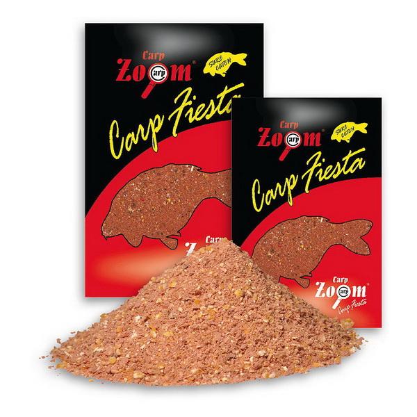 Прикормка Carp Zoom Carp Fiesta Карповая смесь 1кг.Прикормки<br>Высокоэффективная прикормочная смесь. В ее состав входят натуральные элементы, которые значительно повышают результативность рыбалки.<br>