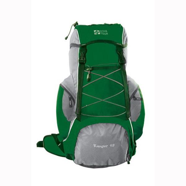 Рюкзак NovaTour Рейнджер 65 N (серый/зеленый)