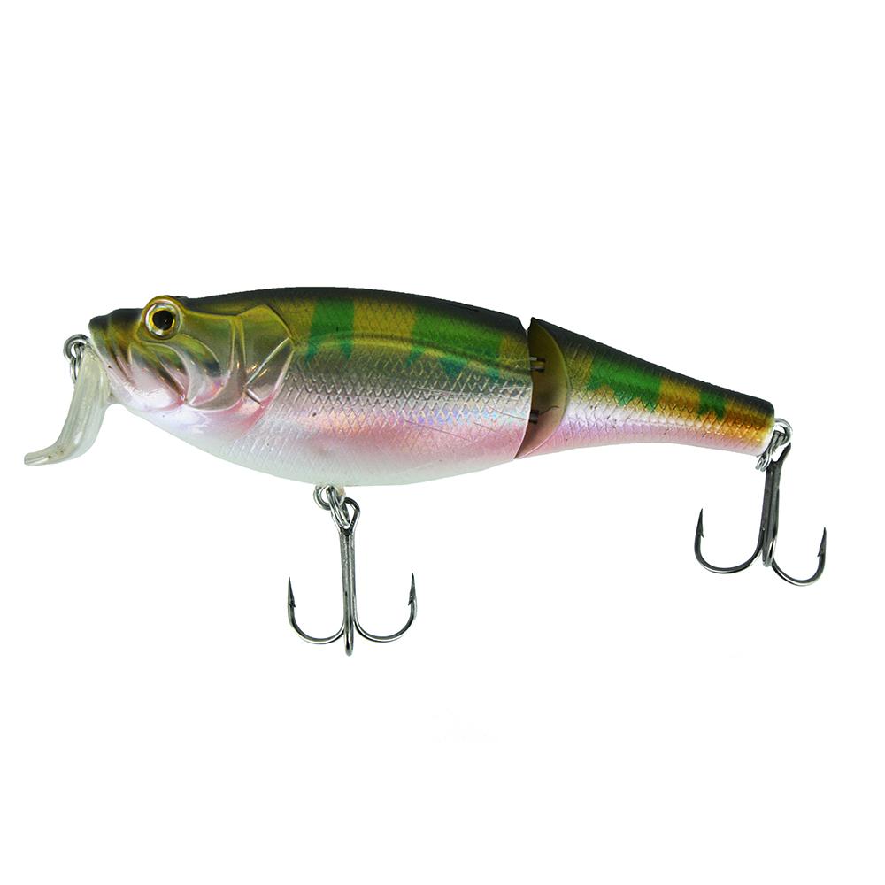 Воблер Trout Pro Rotan Joint 100F, цвет HA07   (38122)Воблеры<br>Двухсоставник бренда Trout Pro для ловли щуки. Заглубление до 0,7 м дает возможность рыболову облавливать этим воблером мелководные заливы рек и водохранилищ, а плавная игра с широкой амплитудой составной приманки не оставит без внимания даже малоактивног...<br>