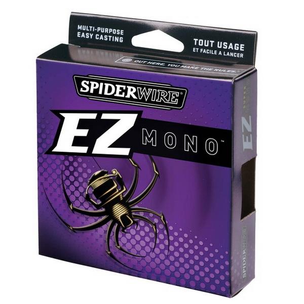 Монолеска Spiderwire Super Mono EZ 0.3мм, 9.012кг, 100м 1307752 (73875)Монофильные лески<br>Легкая монолеска, идеально подходит для кастинга, а так же спиннинговой ловле.<br>